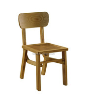 solid wooden furniture dining chair for restaurant