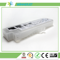 12 colors wholesale price PFI 101 refillable ink cartridge compatible for canon ipf 5000 printer