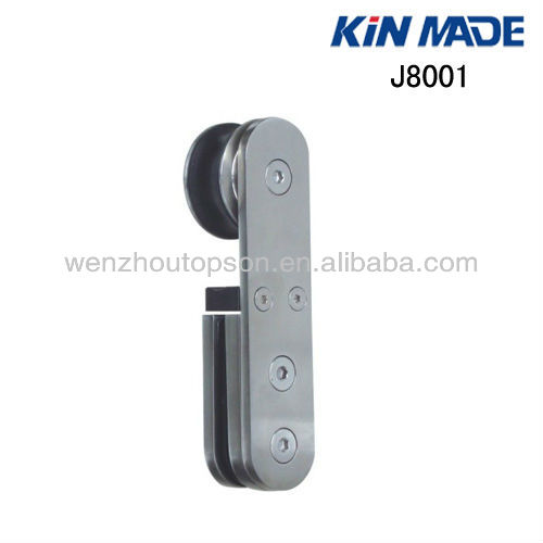 Glass sliding door roller/shower door pulley/stainless steel hardware