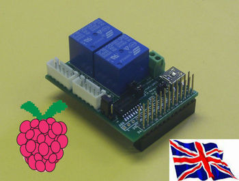 Raspberry Pi - 2803 2 Relay & Step Motor Board