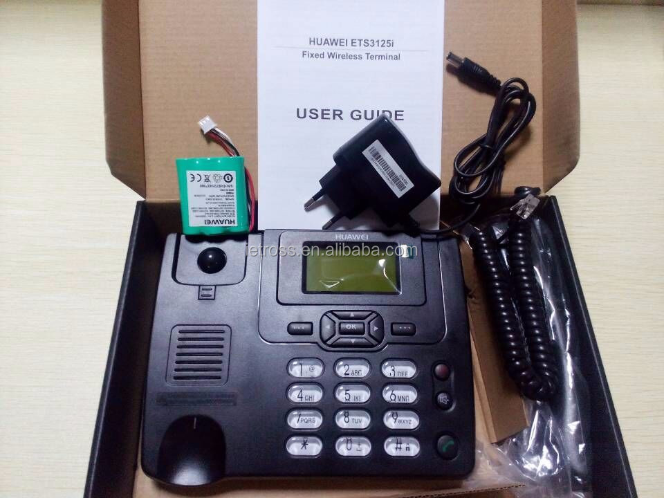 ETS 3125I Unlocked GSM Fixed Telephone with sim card