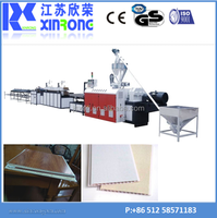 plastic sheet make widow/door/ceiling/decorative panel plastic pvc profile extruder machine Extruder