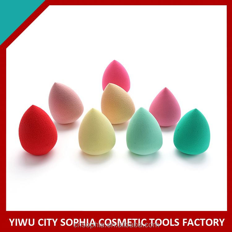 Newest factory sale low price professional latex free cosmetic sponge puff with workable price