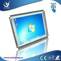 Hot 2013! Iron Case 4 Wire Resistive Touch Screen TFT LCD Monitors Open frame