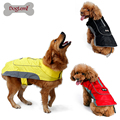 2017 High Quality Waterproof Dog Clothes Pet Jacket Winter Warm Large Dog Coats with Harness Hole