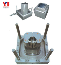 Plastic buckets with lids mold/plastic paint bucket mould