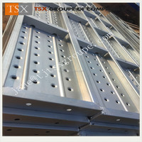 Tianjin Factory TSX-CW10017 steel catwalk in ladder and scaffolding parts