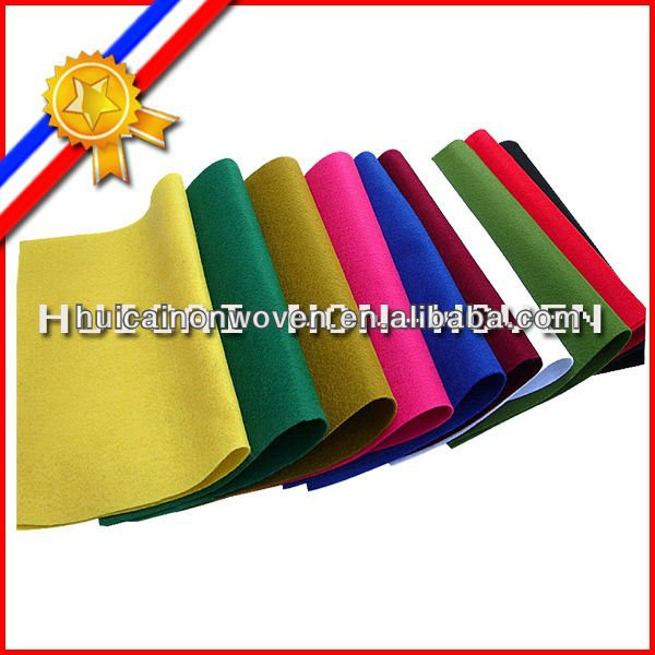 anti-crease finishing polyester puncture non woven decorative felt