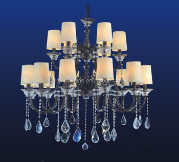 Antique Europe k9 Crystal Chandelier with lobby or hotel decoration