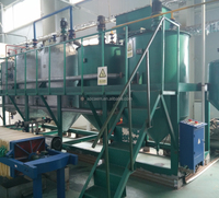 3000kg per day soybean cooking crude oil refining machine line