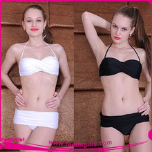 Wholesale New Arrival Pure White Sexi Hot Girl Bikini