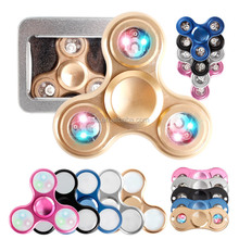 Stress Reduce Fidget Spinner Metal bearing wholesale stock hand spinner