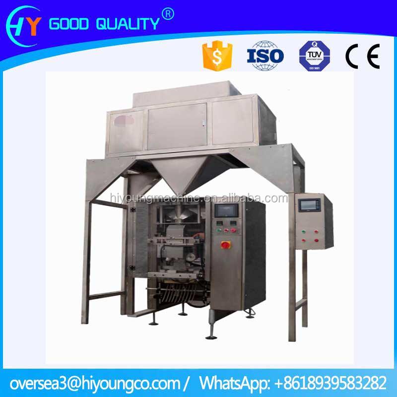 Automatic herbs granules packing machine with combination scales