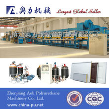 Sandwich panel line,Aluminum foil facings,PU production line