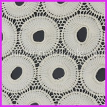 Italian crochet chemical lace embroidery fabric WLF18