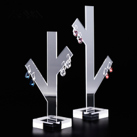 Wholesale High Quality Transparent Acrylic Hanging Girls Earring Holder