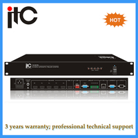 High redolution auto video tracking controller for conference system