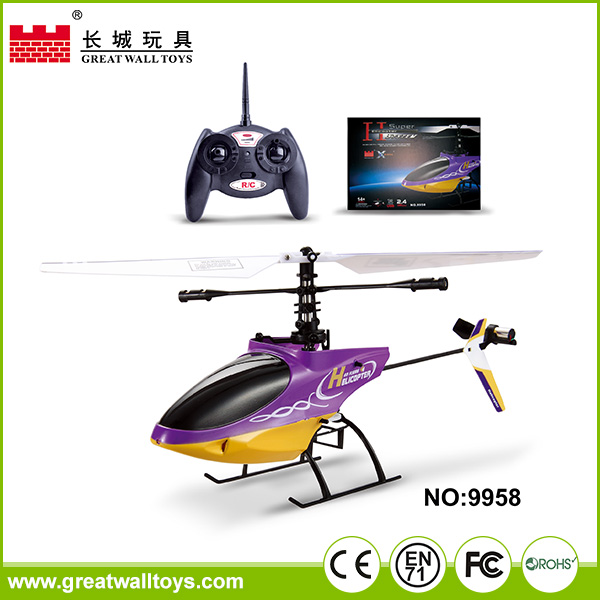 Special Offer! 2016 hot china toy to 4 channel rc toy helicopter with gyro