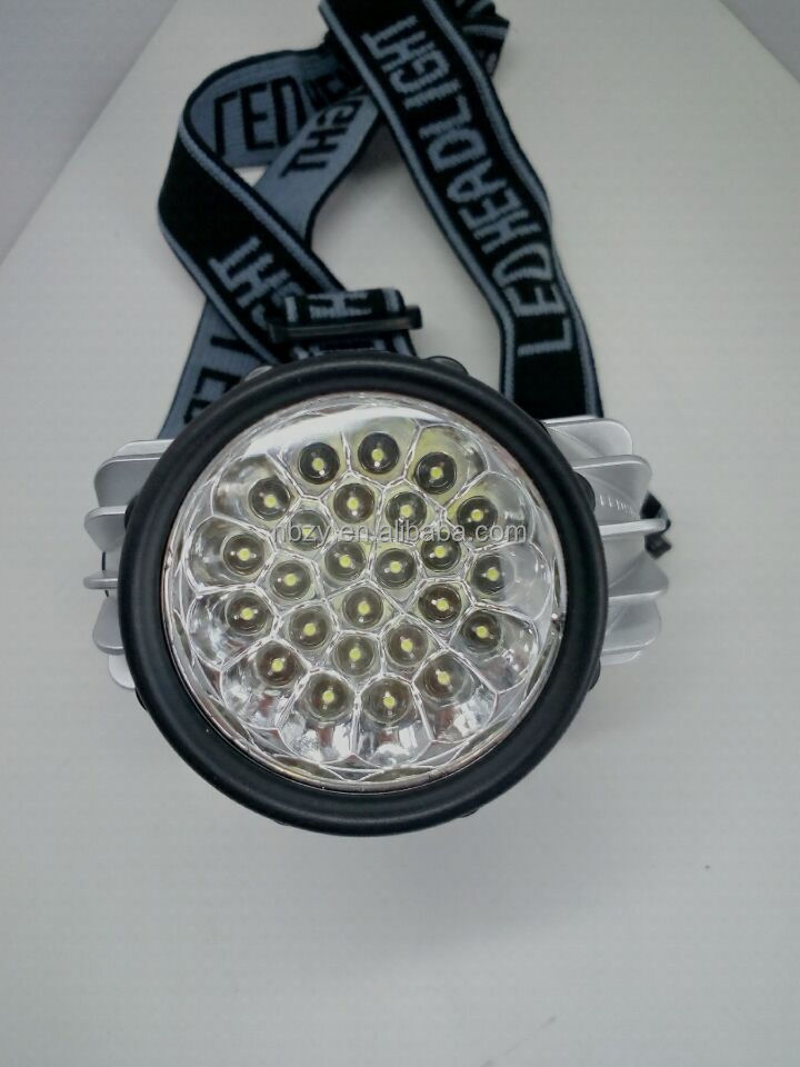 ABS material ultera-bright 25 led headlamp