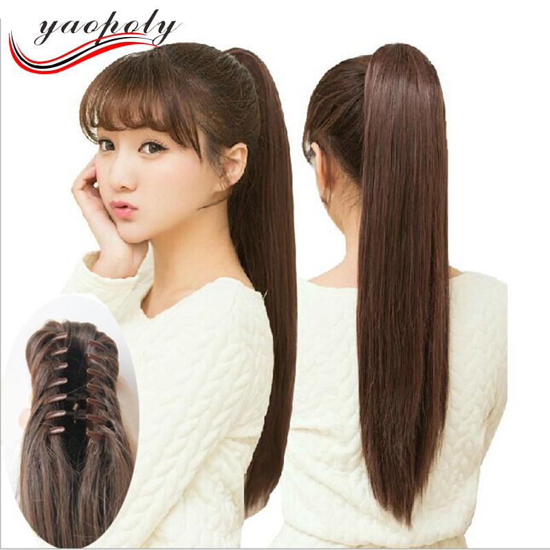Хвостики на длинные волосы фото