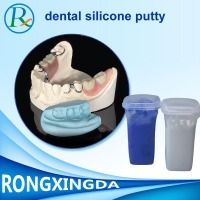 Food Grade Silicone Putty for dental molds/molding silicone rubber putty