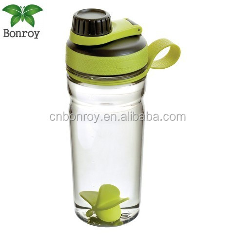 Outdoor Tritan Fashion Water Bottles Portable Space Cup Resistant Sports Nutrition Custom My Shaker Bottle