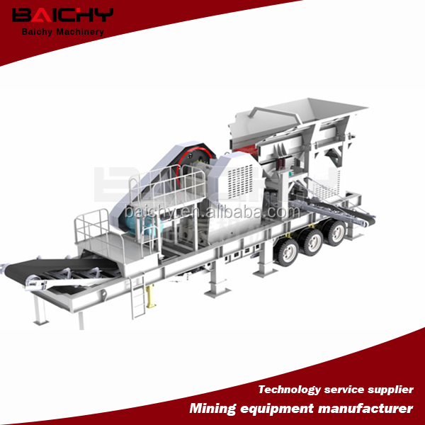 Hot Sale Iron Ore Mining Equipment / Portable Crusher/Mobile Crusher