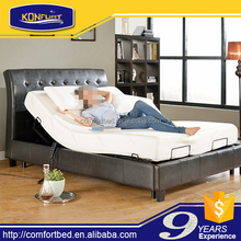 Slat Adjustable Bed with Bed surrounding