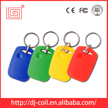 popular cheap rfid read and write key fob rfid key tag