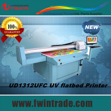 For glass ceramic printing 1300mm 2500mmgalaxy uv flatbed printer