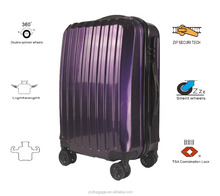 ABS+PC 3 piece business rectangle noble luggage