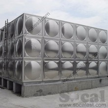 stainless steel water storage tank FRP SMC water tank container