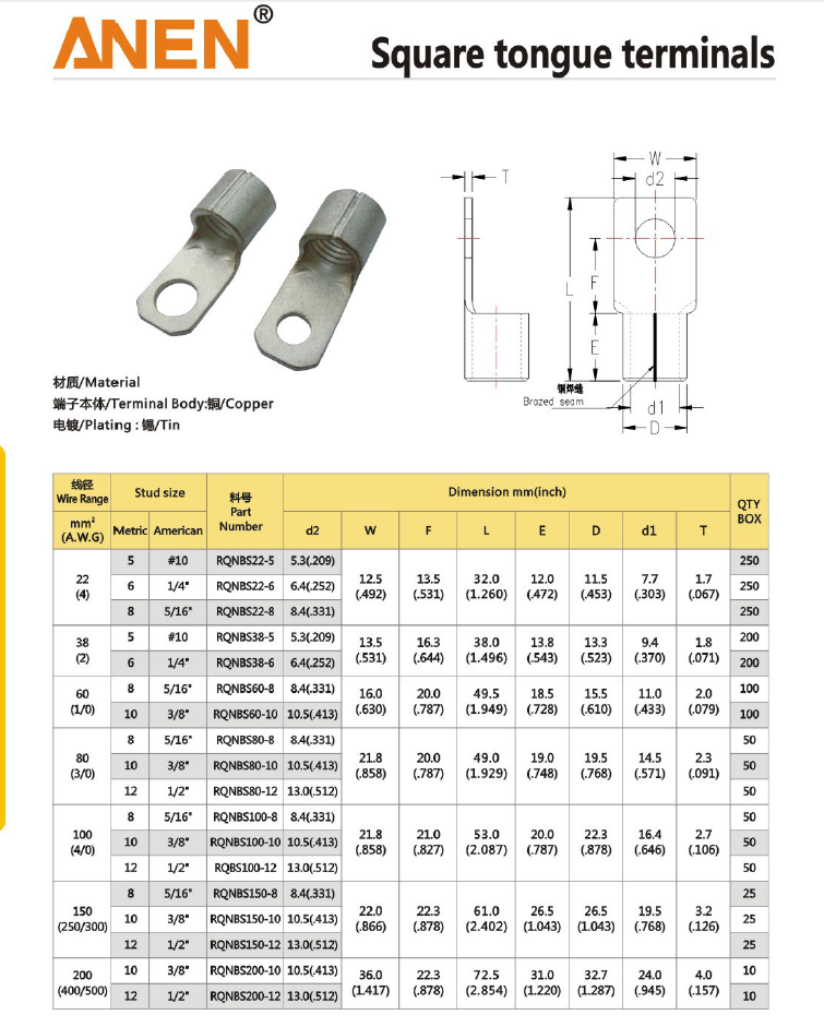 Super Quality Factory Directly Provide Connector Terminal Pins