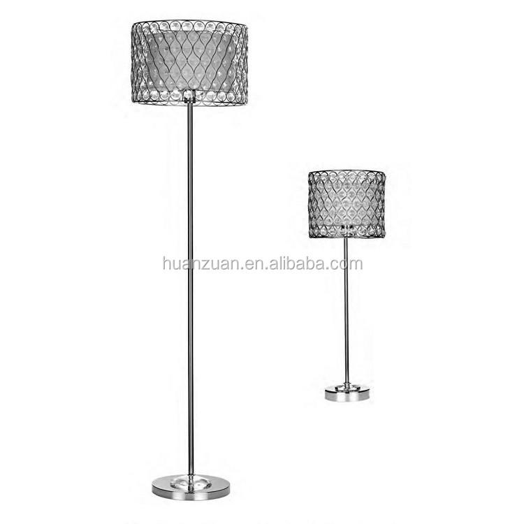 modern living room netting shade table lamp ,modern table light