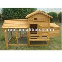 Cheap Large Outdoor Wooden Poultry Cage with Metal Floor