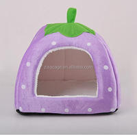 zisa factory cheap price Pretty strawberry style small dogs kennels cat kennel