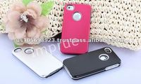 Luxury Aluminum cell phone case for Apple Iphone 4S 4G
