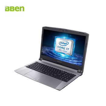 BBEN new gamer laptop i7 8750H GTX 1050 Ti 16gb ram M.2 512GB SSD 1TB HDD Original computer