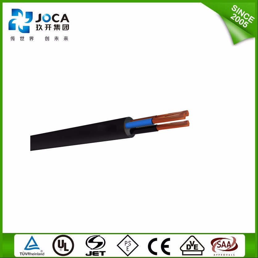 Cables For Led Lamp 8 Core Rubber Tough Vde H03rn-F Cables