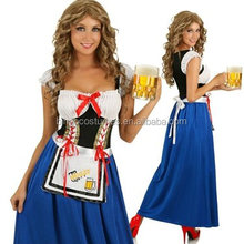 Wholesale 2016 Sexy Cheap Carnival German Beer Maid Costumes
