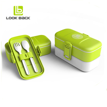 eco-friendly insulated hot box food warmer container kids plastic lunch box
