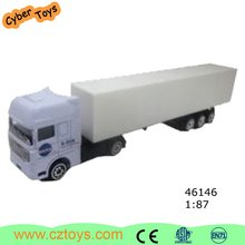 Top Selling Container Diecast Truck Toy, Model Truck 1:64