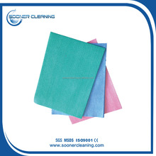 [soonerclean] 2015 CE Certificated No Lint After Wiping, Solvent Resistant Quality Nonwoven All Purpose Kitchen Wipe
