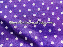 Printed Dots Foil Fabric