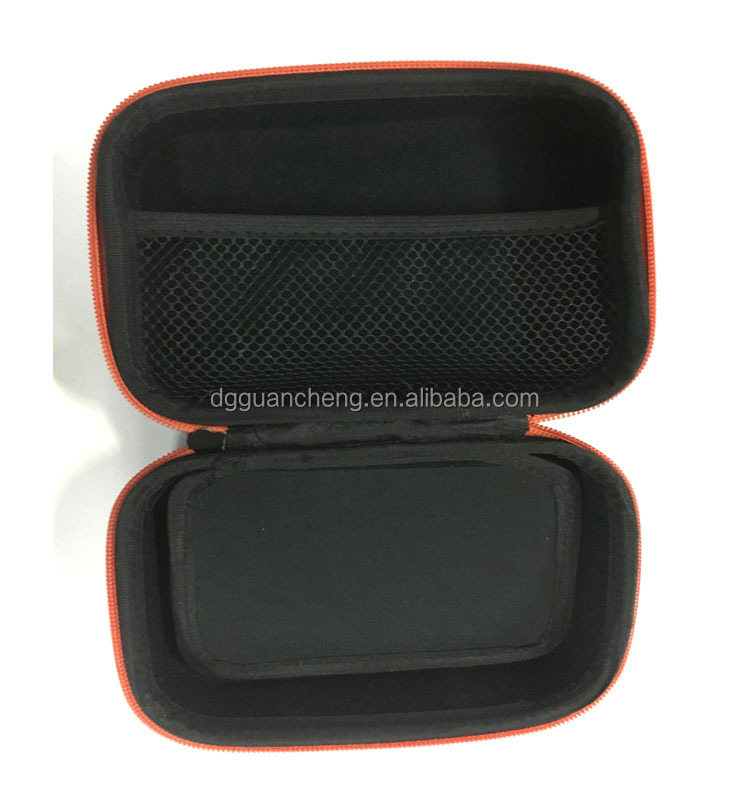 GC-Anti-shock waterproof black fabric carrying tools packaging eva box