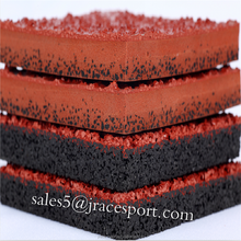 Directly factory top sales outdoor running track rubber flooring