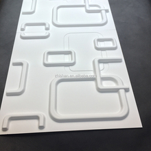 Wall decoration 3D wave PVC board/3d wall panel