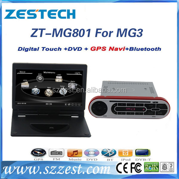 ZESTECH dvd Factory OEM car radio for Roewe mg3/ Roewe mg 3 car dvd gps 2 din audio video player
