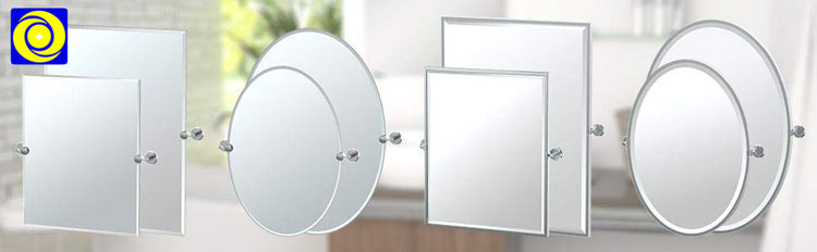 "Modern bathroom wall mounted 19X28"" inches rectangle mirror barber shop stainless steel salon mirror"