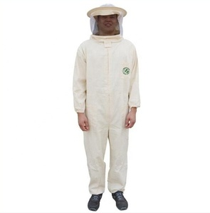 Beefun Beekeeping safety suit with round veil